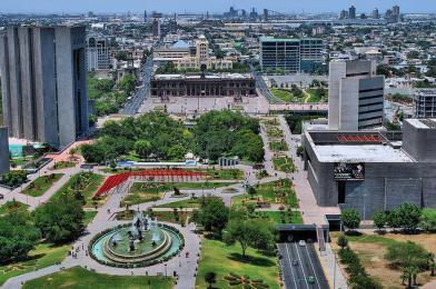 Governor's Palace, Macroplaza, and park, as described in The Z Redemption