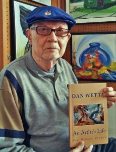 87 y.o. artist, Dan Wetta